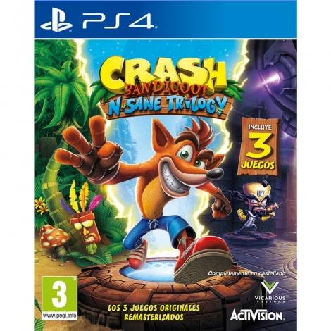 Juego Crash Bandicoot N.Sane Trilogy PS4