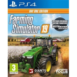Juego Farming Simulator 19 DAY ONE Edition PS4