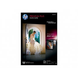 Papel HP Premium Plus Photo Paper Glossy A3 20H