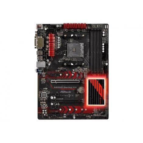 Placa Base Asrock AMD Fatal1ty AB350 Gaming K4 Socket AM4 ATX Grafica DDR4 Glan USB 3.1