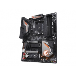 Placa Base Gigabyte AMD X470 Aorus Ultra Gaming Socket AM4 X470 ATX Grafica DDR4 Sata6 USB 3.1
