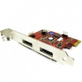 Controladora PCIE Bematik Esata 2P EXT + USB 1P INT