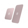 Placa Metalica Universal Celly Rose Gold para Soporte Ghost