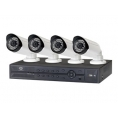 KIT Videovigilancia Conceptronic 4 Camaras Int/Ext POE + Grabador 4 Canales
