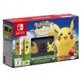 Consola Nintendo Switch Edicion Pikachu Lets GO Pikachu + Poke Ball Plus