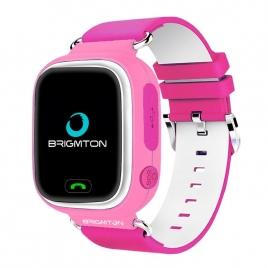 Smartwatch Brigmton BWATCH-KIDS SIM GPS 1,22'' Pink