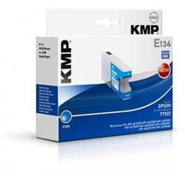 Cartucho Reciclado KMP Epson T7022 Cyan 21ML