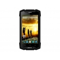 "Smartphone Qimmiq RS 501 Crusoe 5"" QC 8GB 1GB 4G Andorid 5.1 Rugged Black"