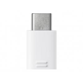 Adaptador Samsung EE-GN930 Micro USB Hembra a USB-C Macho White