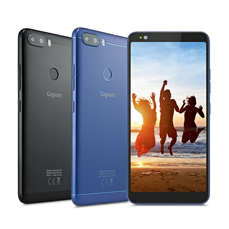 "Smartphone Gigaset GS370 Plus 5.7"" OC 64GB 4GB 4G Android 7 Blue"