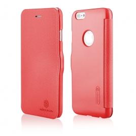 Funda Movil HT Nillkin Fresh Leather red para iPhone 6