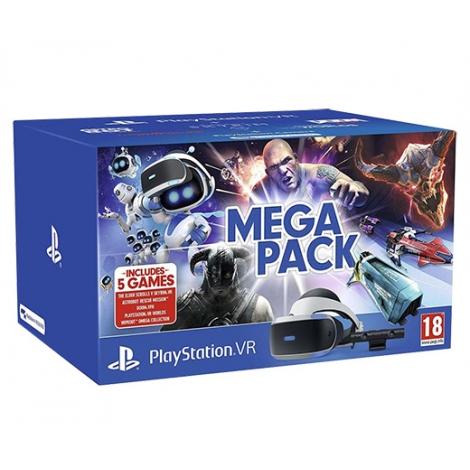 Gafas Sony Playstation VR + Camara + Mega Pack (5 Juegos)