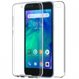 Funda Movil Back + Front Cover HT Silicona 3D Transparente para Xiaomi Redmi GO