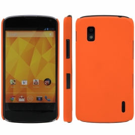 Funda Movil Back Cover HT Coby Orange para LG Nexus 4 E960