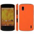 Funda Movil Back Cover HT Coby Orange para LG Nexus 4 E960