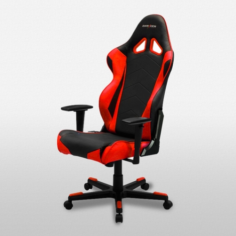 Silla Gaming Dxracer Oh/Re0/Nr Red/Black
