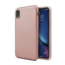 Funda Movil Back Cover Unotec Second Skin II Rose Gold para iPhone XR