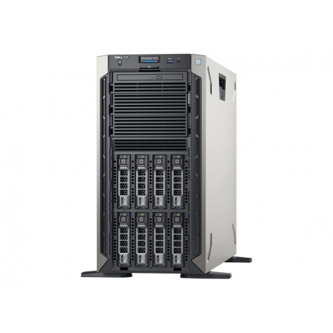 Servidor Dell Poweredge T340 Xeon E-2124 8GB 1TB G200 Dvdrw 495W