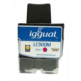 Cartucho Reciclado Iggual Brother LC900 Magenta 25ML