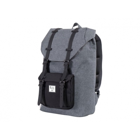 "Mochila Portatil E-VITTA 16"" Tourister Backpack Grey"