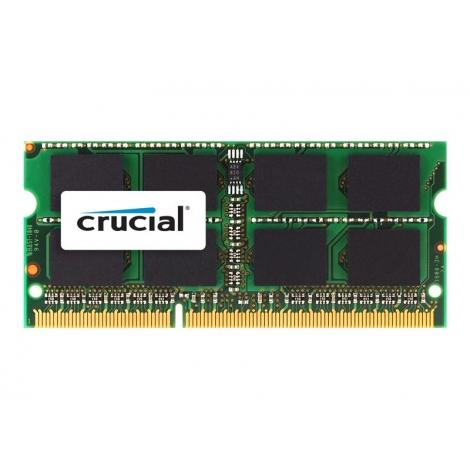 Modulo DDR3 4GB BUS 1333 Crucial Sodimm para MAC