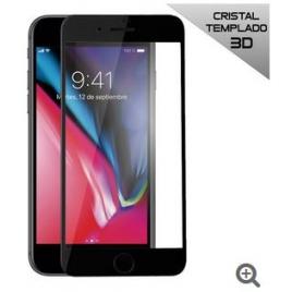 Protector de Pantalla HT Cristal Templado 3D Black para iPhone 7 Plus / 8 Plus