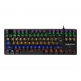 Teclado Tacens Mars Gaming MK4 Mini Blue Keyboard Mechanical Iluminado Black