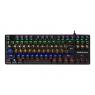 Teclado Tacens Mars Gaming MK4 Mini Blue Keyboard Mechanical Iluminado Black