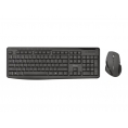 Teclado + Mouse Trust EVO Silent Wireless Black