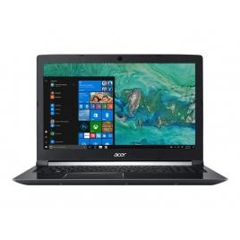"""Portatil Acer Aspire 7 A715-72G-75AN CI7 8750H 8GB 1TB + 128GB SSD GTX1050 4GB 15.6"""" FHD W10 Black"""