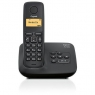 Telefono Inalambrico Siemens Gigaset A130 + Contestador Black