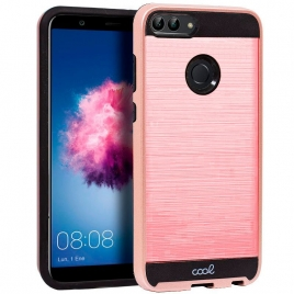 Funda Movil Back Cover HT Aluminio Pink para Huawei P Smart FIG-LX1