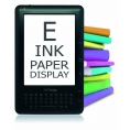 """Ebook Bestbuy Cyberbook E-TOUCH 6"""" 4GB Tinta Electronica"""