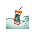 "Funda Movil Celly Splashbag 18 Waterproof Hasta 6.2"" Orange"