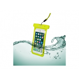 "Funda Movil Celly Splashbag 18 Waterproof Hasta 6.2"" Yellow"
