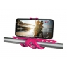Soporte Selfie Celly Flexible Squiddy Pink