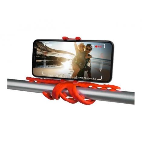 Soporte Selfie Celly Flexible Squiddy red