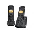 Telefono Inalambrico Siemens Gigaset A120 DUO Black
