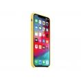 Funda iPhone XS MAX Apple Silicone Yellow