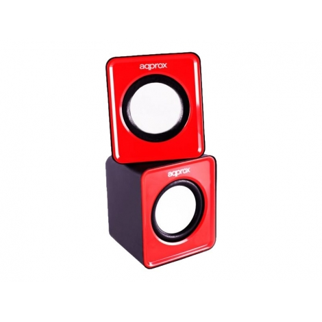 Altavoces Approx SPX1 2.0 5W USB red SIN AC