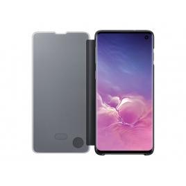 Funda Movil Samsung Clear View Standing Black para Samsung Galaxy S10