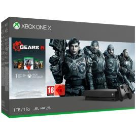 Consola Xbox ONE X 1TB + Gears OF WAR 5