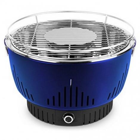 Parrilla Carbon Medion MD17700 con Ventilacion Activa Blue