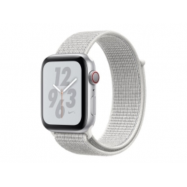 Apple Watch Nike+ Serie 4 GPS 40MM Silver Aluminium + Correa Nike Sport Pure Platinum/Black
