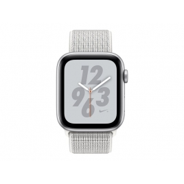 Apple Watch Nike+ Serie 4 GPS 44MM Silver Aluminium + Correa Nike Sport Loop Summit White