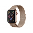 Apple Watch Serie 4 GPS + 4G 40MM Gold Stainless Steel + Correa Milanese Loop Gold