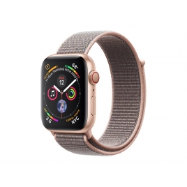 Apple Watch Serie 4 GPS + 4G 44MM Gold Aluminium + Correa Sport Loop Pink Sand
