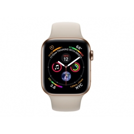 Apple Watch Serie 4 GPS + 4G 44MM Gold Stainless + Correa Sport Stone