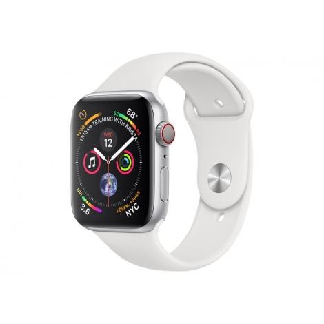 Apple Watch Serie 4 GPS 40MM Silver Aluminium + Correa Sport White