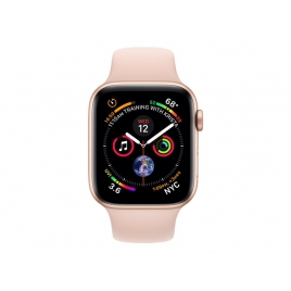 Apple Watch Serie 4 GPS 44MM Gold Aluminium + Correa Sport Pink Sand